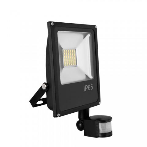 Zewnętrzna lampa LED z czujnikiem ruchu 10W