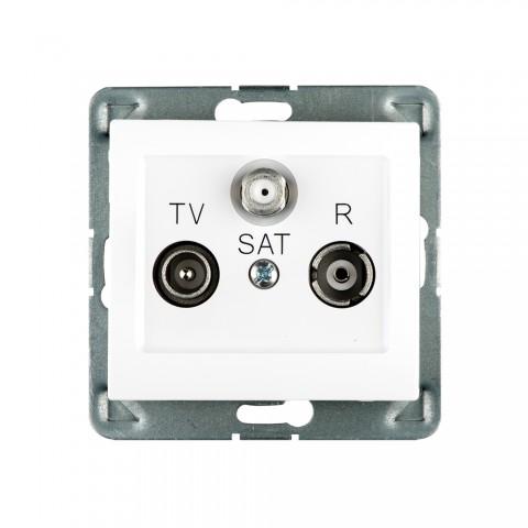 Gniazdo antenowe R-TV-SAT końcowe
