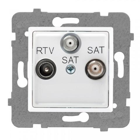 Gniazdo antenowe RTV-SAT-SAT końcowe