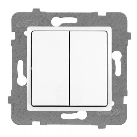 Łącznik pojedynczy (jednobiegunowy) + schodowy